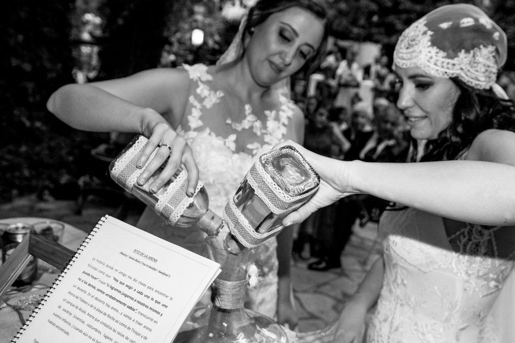 Reportaje fotográfico boda Peña del Agua – Roma Lucia & Ainhoa