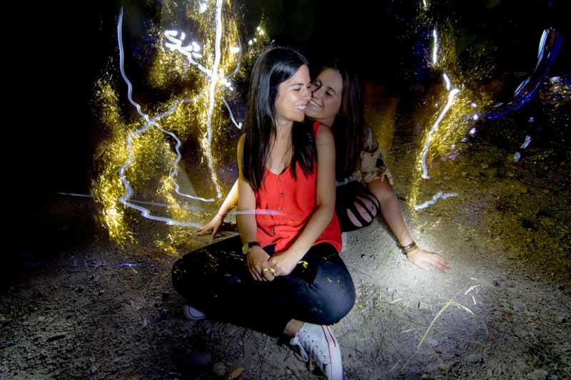 Fotografo boda Avila y Madrid preboda lightpainting Wayak Studio 495