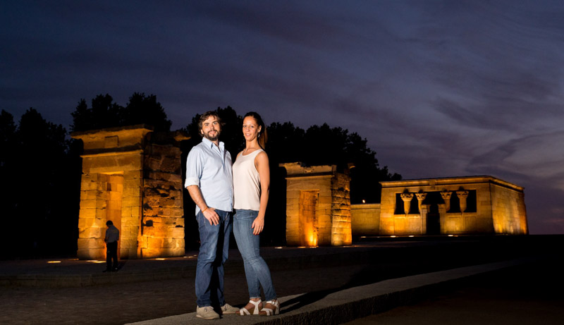 Fotografo boda Avila y Madrid preboda templo debod Wayak Studio-527