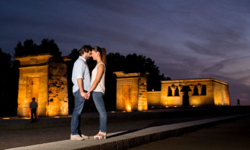 Fotografo boda Avila y Madrid preboda templo debod Wayak Studio-528